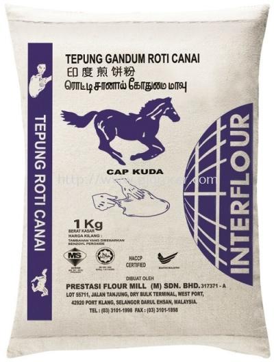 Blue Horse Roti Canai Tepung Gandum 1kg