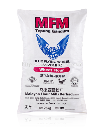 Blue Flying Wheel Semolina 25kg
