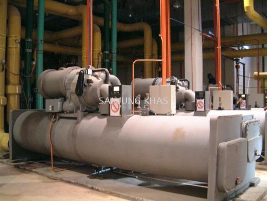 Chiller and Pump Repair Work