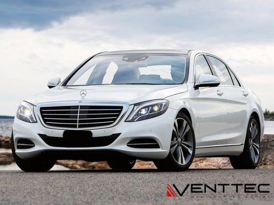 MERCEDES S-CLASS W222 SEDAN (LONG WHEEL BASE) venttec door visor