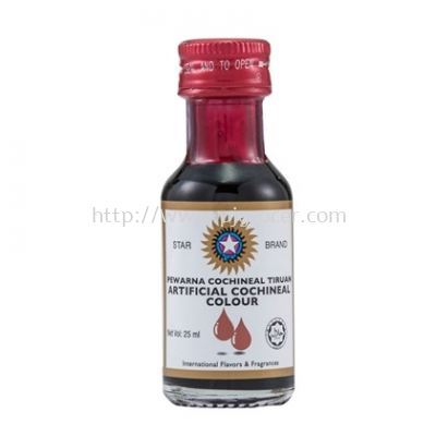 Star Brand Colour Cochineal Red 25ml