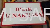 Signage Bilik Tnb Safety Signage