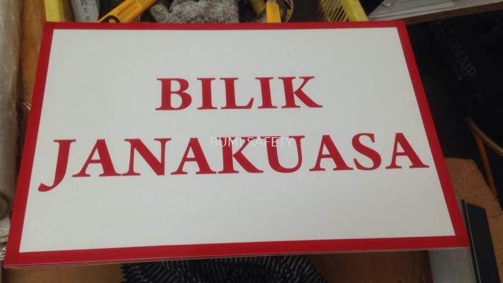 Signage Bilik Tnb