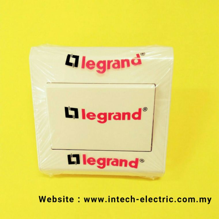 LEGRAND BELANKO 617000 (1 GANG 1 WAY)SWITCH  Legrand Belanko Series Switcher