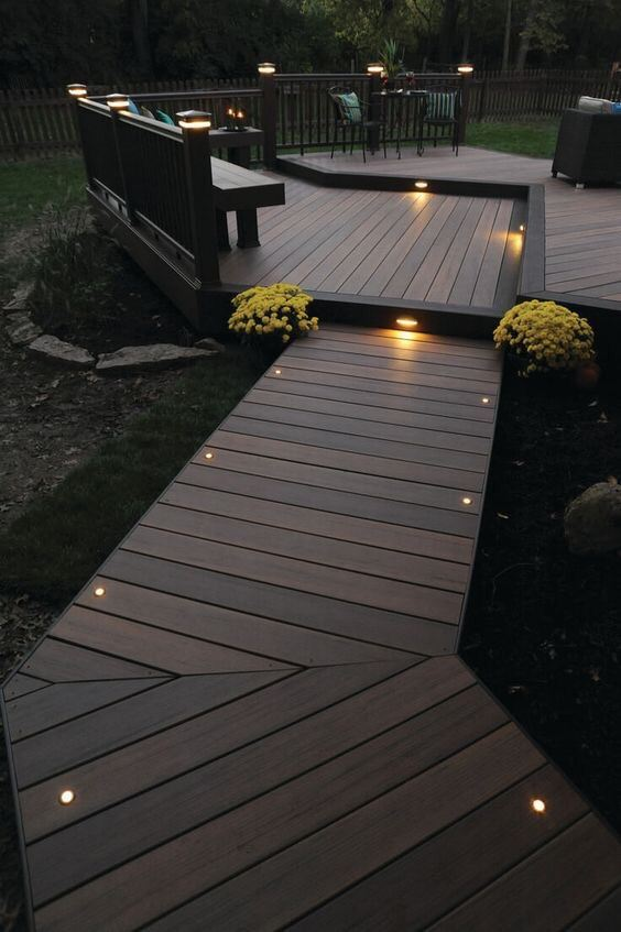 IPE Timber Decking Outdoor Decking