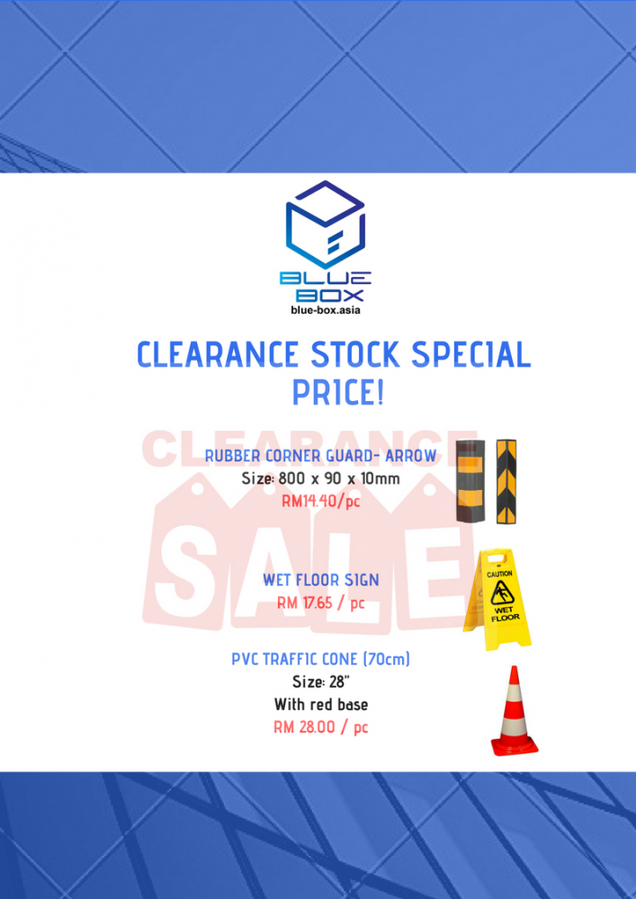 CLEARANCE STOCK SPECIAL PRICE