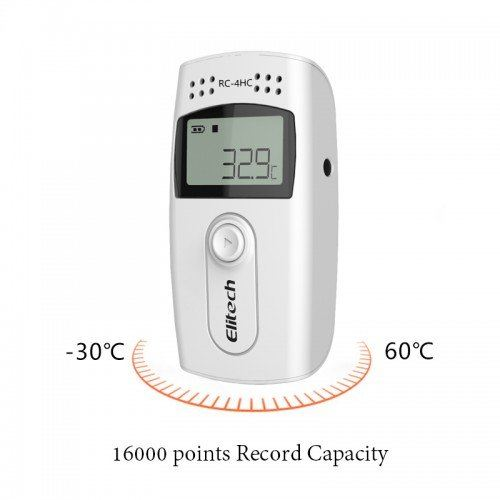 RC-4HC USB Temperature & Humidity Data Logger Temperature