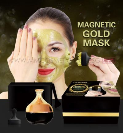 Magnetic Golden Mask
