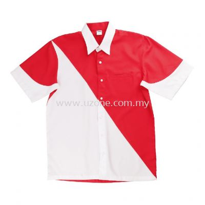 S005(Ready Stock)  . Red/White