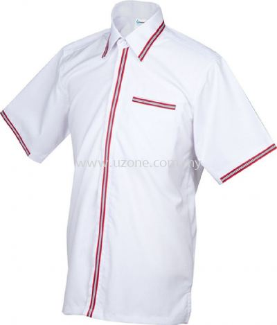 FV3002 (Ready Stock) White / Red