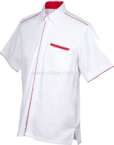 OF1001(Ready Stock)  . White / Red