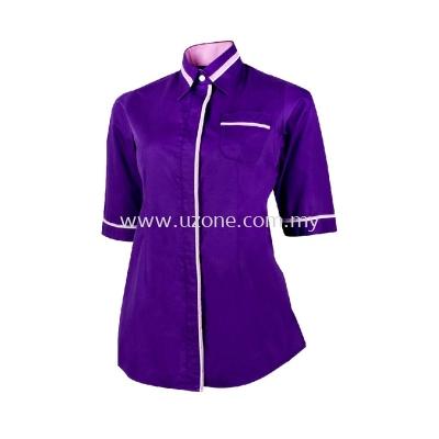 FC 2705(Ready Stock) Dark Purple / Light Purple / White