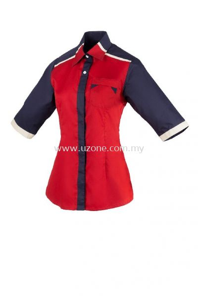 FC3502 (Ready Stock) Red / Navy / Khaki