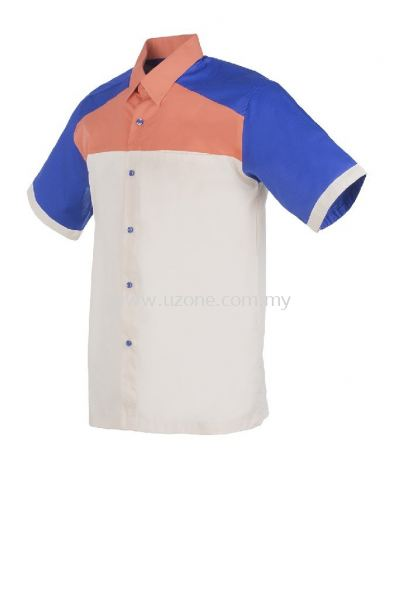 FC3603(Ready Stock)  . Cream / Peach / Royal Blue