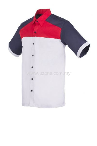 FC3602(Ready Stock)  . Light Grey / Red / Navy