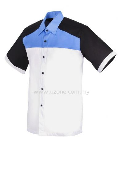 FC3601(Ready Stock)  . White / Medium Blue / Navy