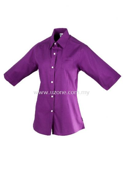 OF1323(Ready Stock)  . Violet Purple