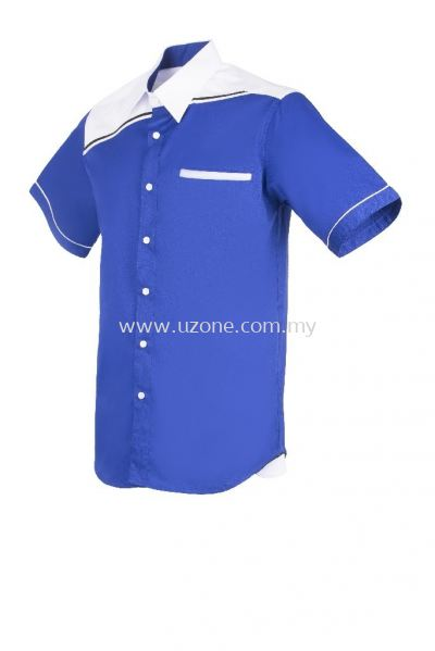 FC 3801 (Ready Stock) . ROYAL BLUE/WHITE/BLACK