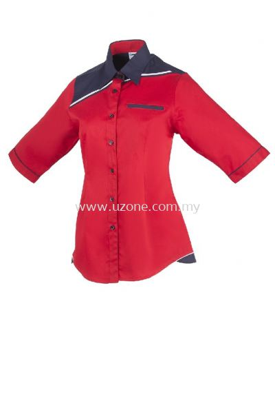 FC 3902 (Ready Stock) . RED/ NAVY/ WHITE