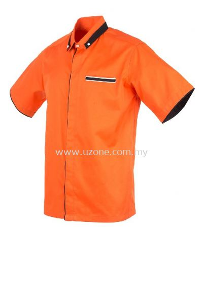 FC 4012 (Ready Stock) . ORANGE/BLACK/WHITE