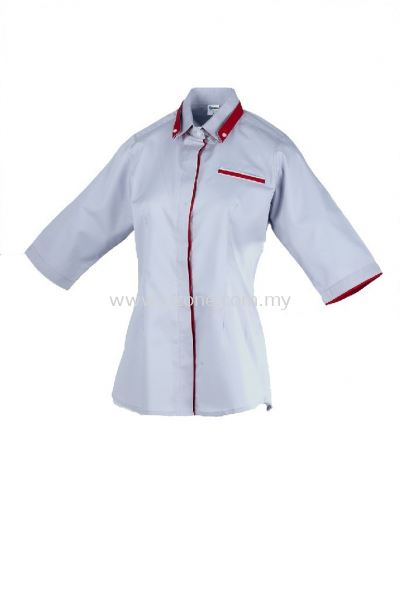 FC 4110 (Ready Stock) LIGHT GREY/RED/WHITE