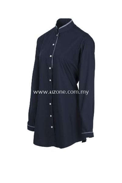 SC 0205 (Ready Stock) . NAVY/ GREY
