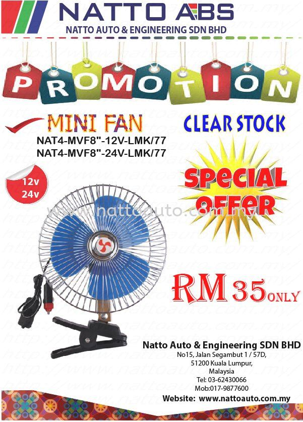 CLEAR STOCK PROMOTION