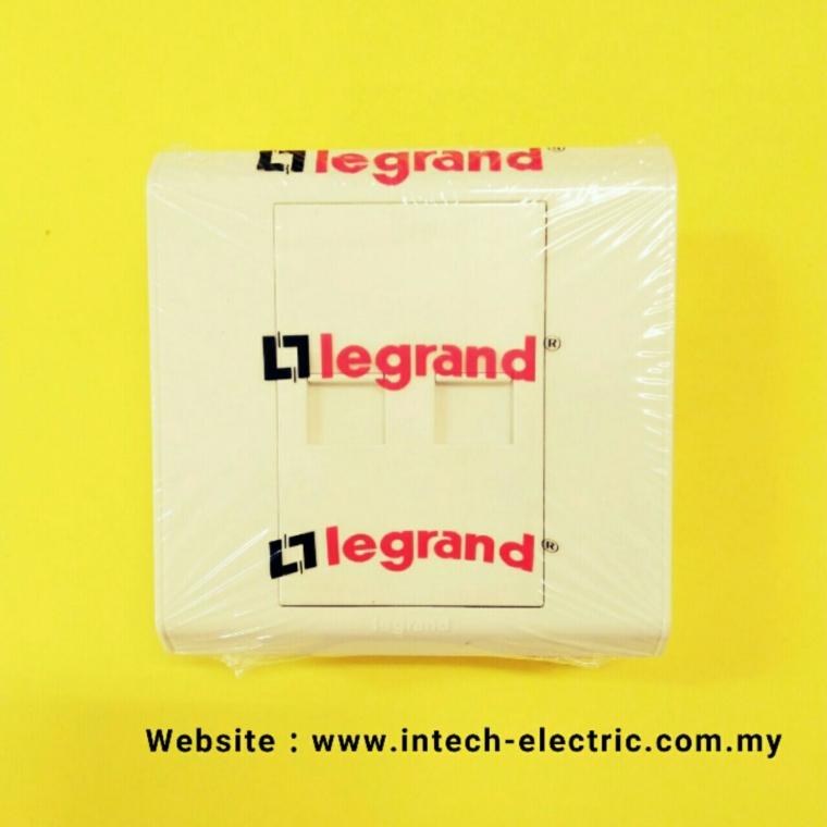 LEGRAND BELANKO 617092 (RJ45 CAT.6)DOUBLE SOCKET Legrand Belanko Series Switcher