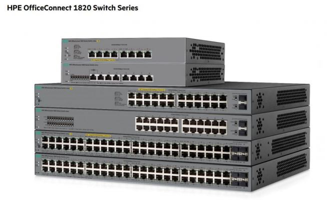 HPE OFFICECONNECT 1820 SERIES