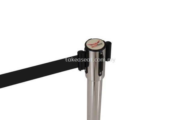 Retractable Q-UP Stand black