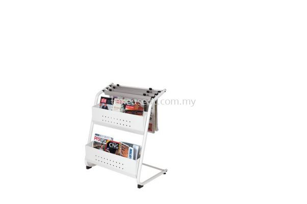 Newspaper & Magazine Rack NM323
