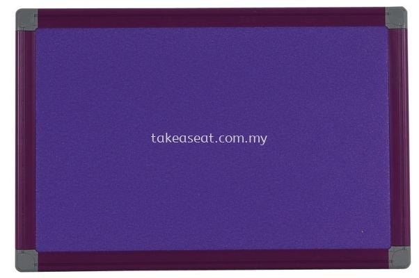 Plastic Frame Foam Board Purple