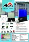 Mtech DC Sliding Motor For Sliding Gate Auto Gate System