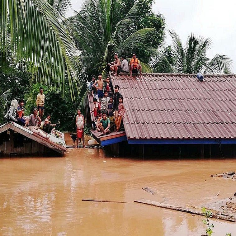 Search for Missing after Laos Dam Collapse TravelNews