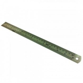 "Stainless Steel Ruler 12"" inch / 30 cm"