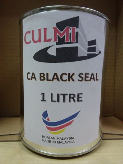 CULMI CA BLACK SEAL ADHESIVE X 1L (24-CAN/BOX)