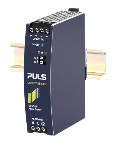 PULS CP10.241 DIN-rail power supplies for 1-phase systems