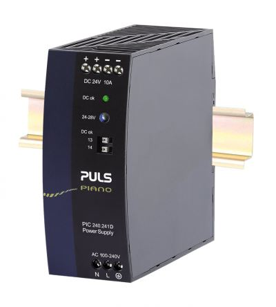 PULS PIC240.241D DIN-rail power supplies for 1-phase systems