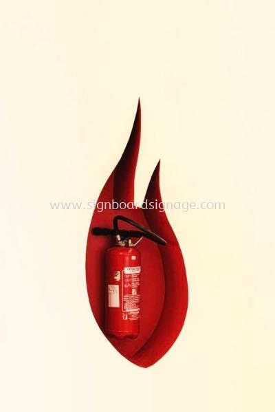Fire Extinguisher Sign KL