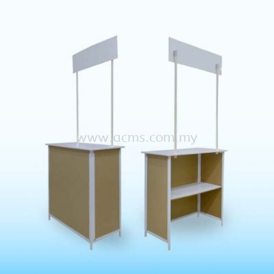 Promotion Counter or Sampling Booth Series-Iron Sampling Booth-TSB3