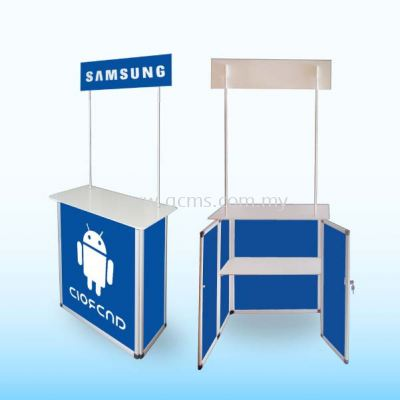 Promotion Counter or Sampling Booth Series-Aluminium Sampling Booth-TSB1