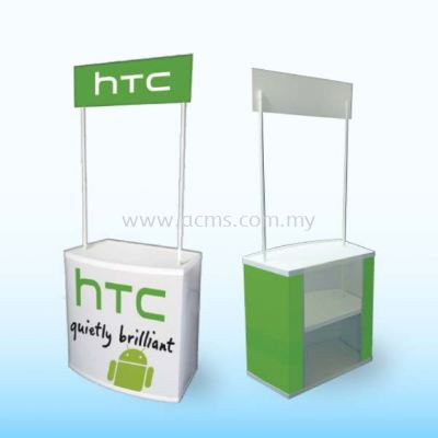 Promotion Counter or Sampling Booth Series-PVC Sampling Booth-TPV81