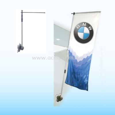 Mirror Flag Stand-BWS