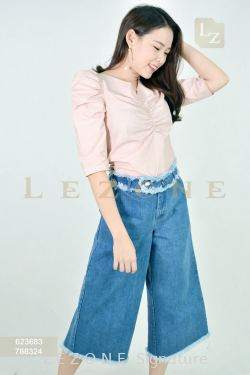 768324 DENIM CULOTTES 【BUY 2 FREE 3】