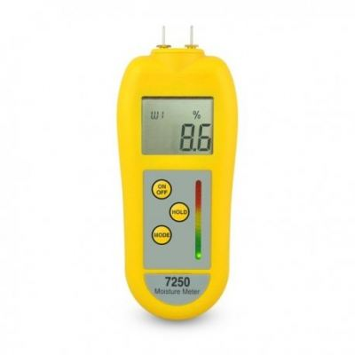 ETI 7250 Moisture Meter & Damp Meter for timber & building materials, Order Code: 224-075