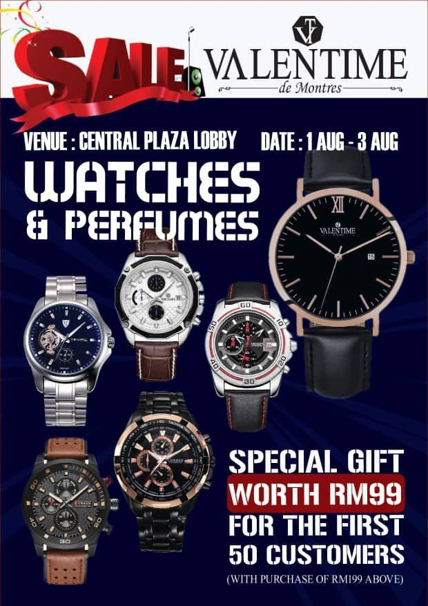 Valentime Watch & Perfume Promotion