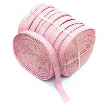 Cotton Tape - 10 Rolls / Pack - Pink