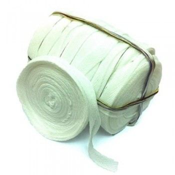 Cotton Tape - 10 Rolls / Pack - White