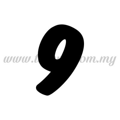 "Sticker Number ""9"" - Bold (SK-0NUM6-9)"
