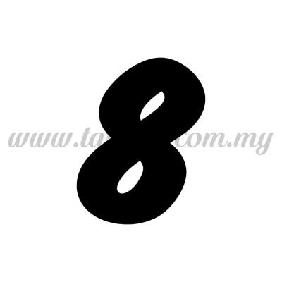 "Sticker Number ""8"" - Bold (SK-0NUM6-8)"